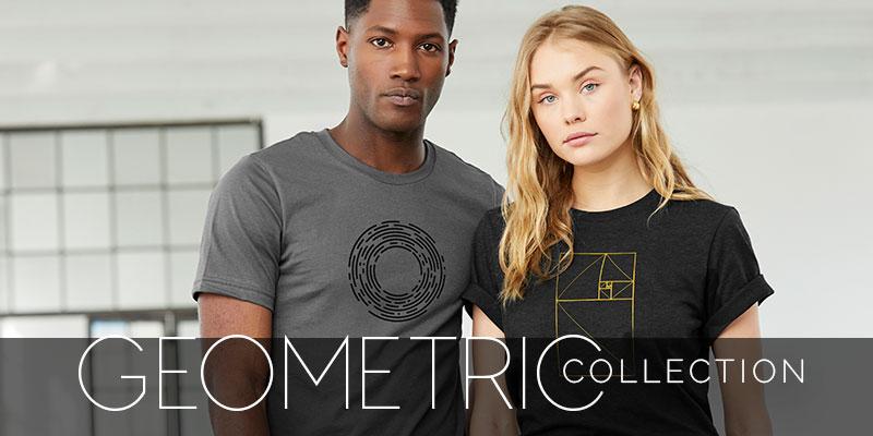 Geometric Brand Header